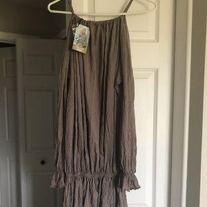 Desert tan dress